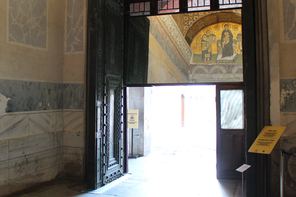 The Beautiful (or Splendid) Door (or Gate) - Hagia Sophia, Istanbul, Turkey