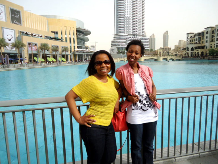 One More Stop to Dubai Mall Before Heading Home
