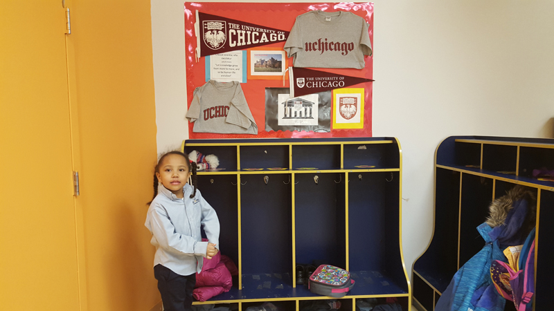 Najwa at DC Prep - UChicago