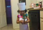 Najwa with spatula