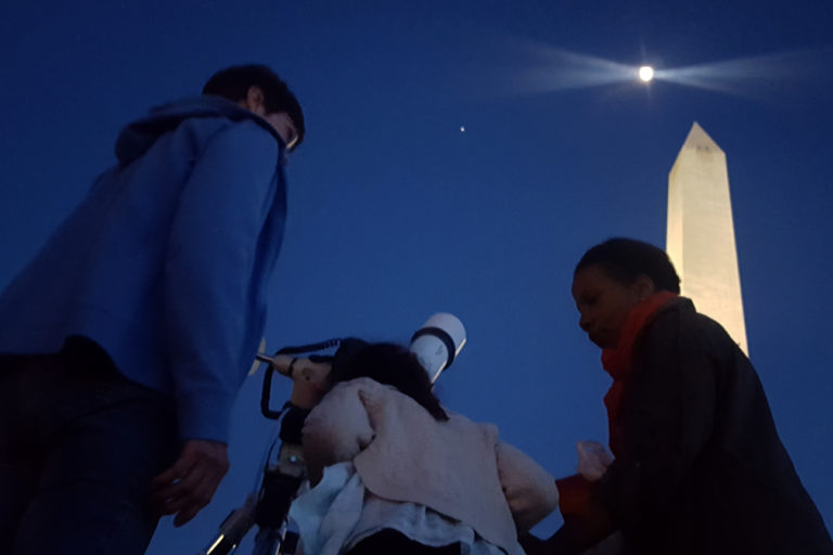 Viewing Jupiter, The Moon, Otherworldly Stuff At The Astronomy Festival