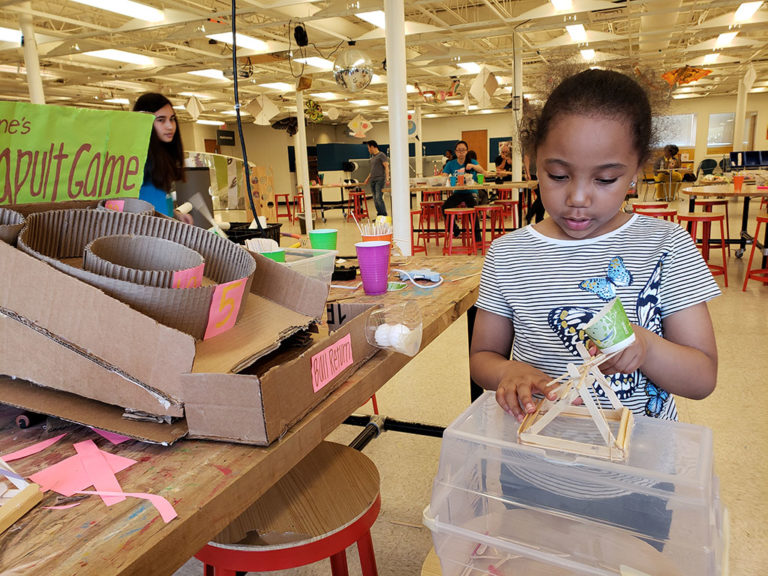 Engineering Projects from Catapults to Robots at KID Museum