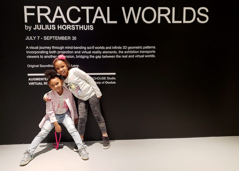 Experimenting Fractals in Art at ARTECHOUSE