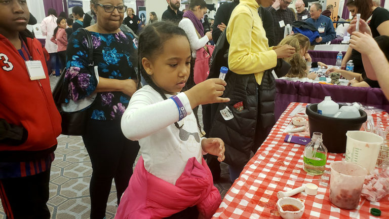 Science Games and Learning at the AAAS Family Science Days