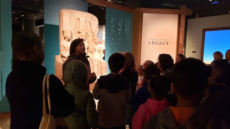 Learning About Queens of Egypt with Archaeology Club