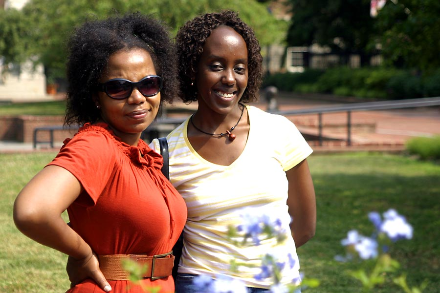 Nduku and Shay in Annapolis, Maryland