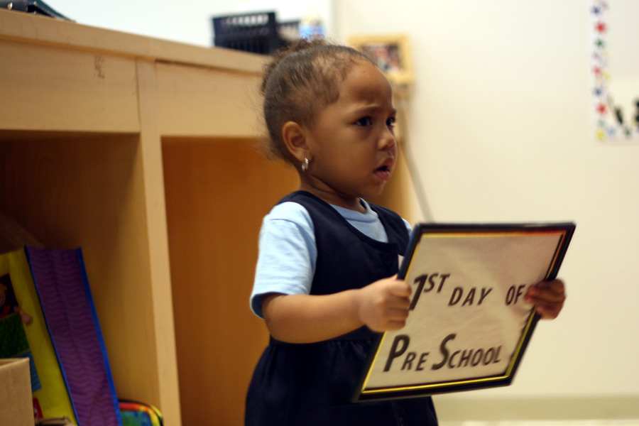 Najwa's First Day of School at DC Prep