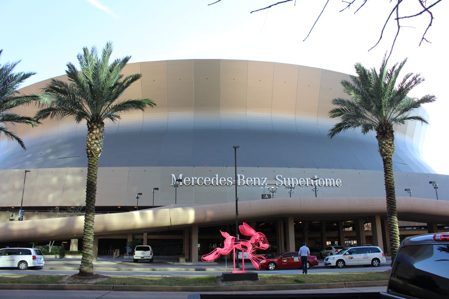 Superdome in New Orleans, Louisiana
