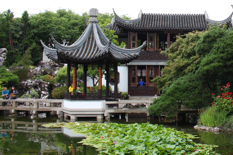 Visiting Portland's Sister City Suzhou While Still in Portland