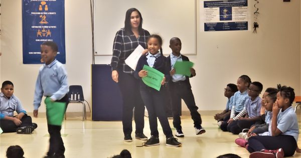 Najwa wins Math Award at DC Prep