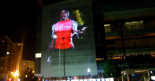 RGIII on Newseum