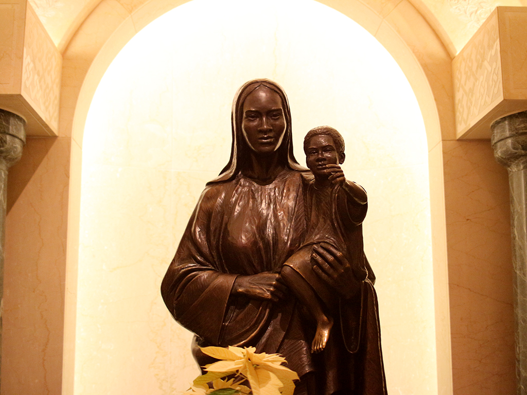 Our Mother of Africa Chapel - Basilica of the National Shrine of the Immaculate Conception