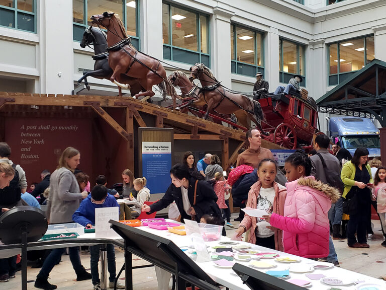 DIY Valentine's at the National Postal Museum