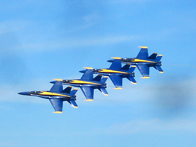 Blue Angels at Andrews Joint Base Air Show